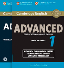 Серия Cambridge English Advanced Authentic Examination Papers  - изображение
