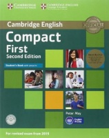 Compact First Second Edition Student's Book with answers and CD-ROM and Class CDs