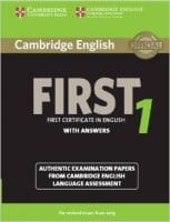 Cambridge English: First 1 Authentic Examination Papers from Cambridge ESOL with answers