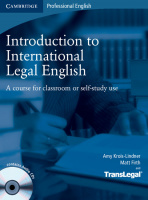 International Legal English Second Edition with Audio CDs