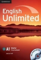 English Unlimited Starter Coursebook with e-Portfolio DVD-ROM