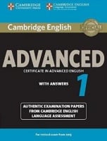 Cambridge English: Advanced 1 Student's Book with answers