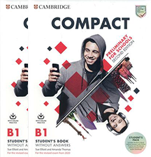 Серия Compact Preliminary for Schools Second Edition  - изображение