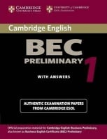 Cambridge BEC 1 Preliminary Student's Book with answers and Audio CD