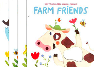 Серия My Touch and Feel Animal Friends  - изображение