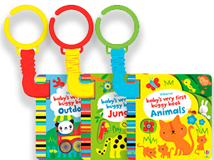 Серия Usborne Baby's Very First Buggy Books  - изображение