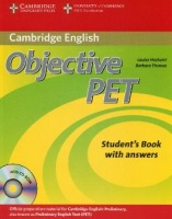 Objective PET Second Edition Student's Book with answers and CD-ROM and Audio CDs