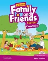 Family and Friends 2nd Edition 5 Class Book with MultiROM