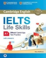 IELTS Life Skills Official Cambridge Test Practice A1 Audio CDs