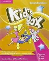 Kid's Box Second Edition Starter Class Book with CD-ROM
